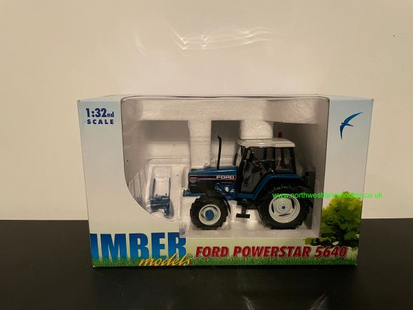 ROS 1:32 SCALE FORD 5640 SLE 4WD BLUE