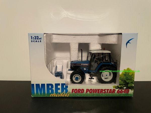 ROS 1:32 SCALE FORD 6640 SLE 4WD BLUE