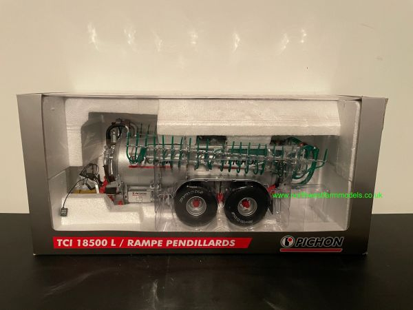 ROS 60217 1:32 SCALE PICHON TCL 185000L SLURRY TANKER WITH DRIBBLE BAR