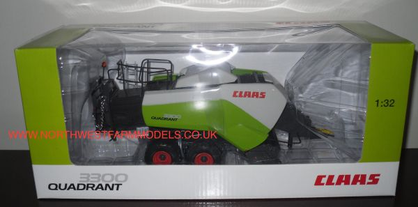 USK SCALEMODELS 30001 CLAAS QUADRANT 3300 BIG SQUARE BALER (DEALER BOX)