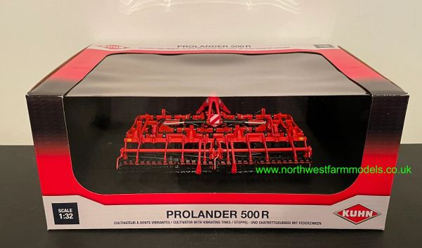 UNIVERSAL HOBBIES 6267 1:32 SCALE KUHN PROLANDER 500R CULTIVATOR