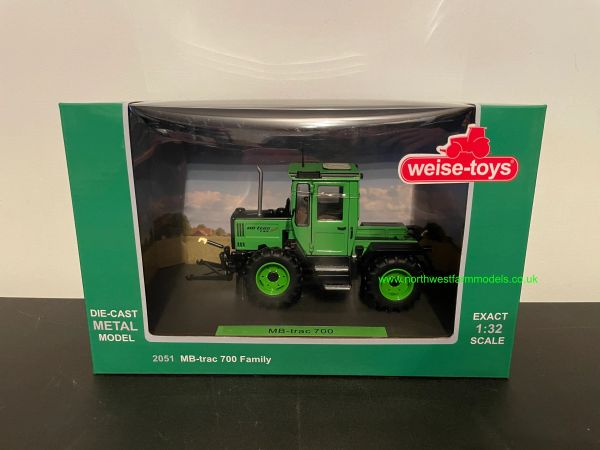 WEISE TOYS 1:32 SCALE MERCEDES BENZ MB TRAC 700 LIMITED FAMILY EDITION