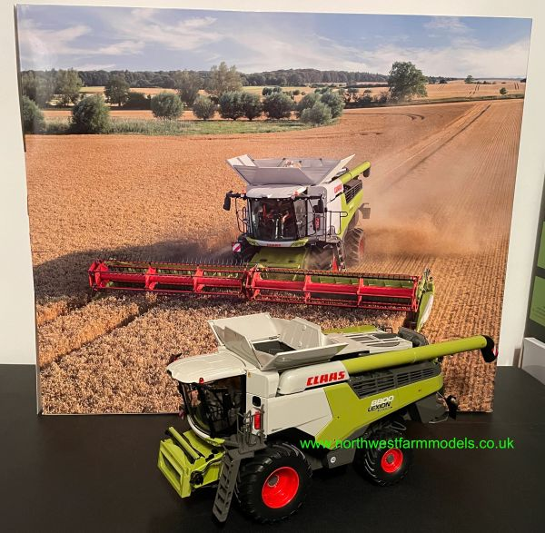 MARGE MODELS 1:32 SCALE CLAAS LEXION 8800 WHEELED COMBINE HARVESTER LIMITED EDITION
