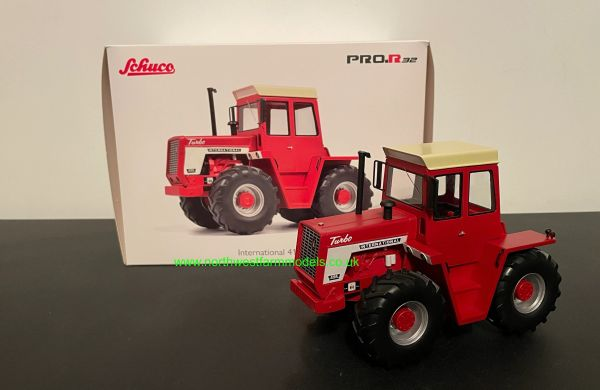 SCHUCO 1:32 SCALE INTERNATIONAL 4166 TURBO TRACTOR