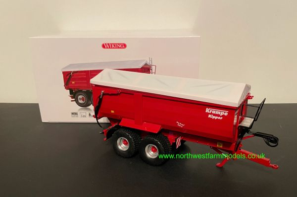 WIKING 1:32 SCALE KRAMPE BIG BODY 650S REAR AND SIDE TIPPING TRAILER