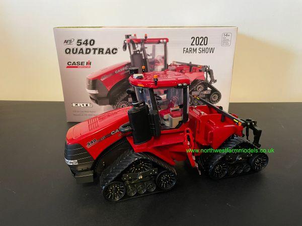 ERTL 1:32 SCALE CASE IH STEIGER 540 QUADTRAC 2020 FARM SHOW EDITION