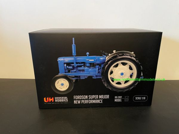 UNIVERSAL HOBBIES 1:16 SCALE FORDSON SUPER MAJOR NEW PERFORMANCE