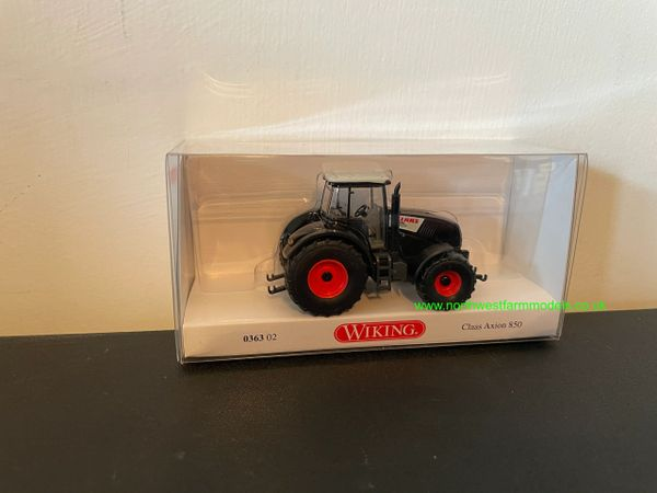 WIKING 1:87 SCALE CLAAS AXION 850 BLACK EDITION