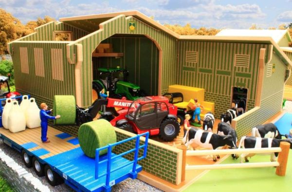BRUSHWOOD TOYS 1:32 SCALE MY FIRST FARM PLAY SET BT8850