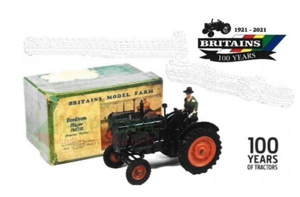 BRITAINS FARM 43293 1:32 SCALE FORDSON MAJOR 100 YEARS SPECIAL EDITION