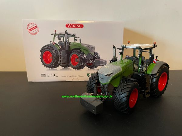 WIKING 1:32 SCALE FENDT 1046 VARIO (GEN.6) CHROME LIMITED EDITION