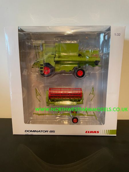USK SCALEMODELS 1:32 SCALE CLAAS DOMINATOR 85 WITH CAB *LIMITED EDITION*