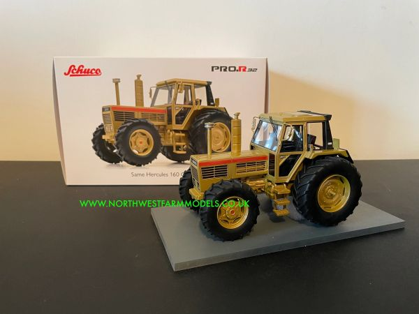SCHUCO 1:32 SCALE SAME HERCULES 160 GOLD LIMITED EDITION