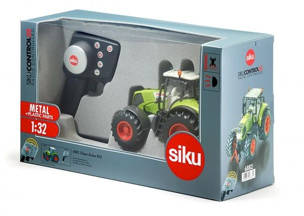 SIKU CONTROL 1/32 SCALE 6882 CLAAS AXION 850 TRACTOR WITH REMOTE CONTROL