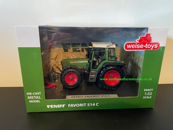 WEISE TOYS 1:32 SCALE FENDT FAVORIT 514C TRACTOR