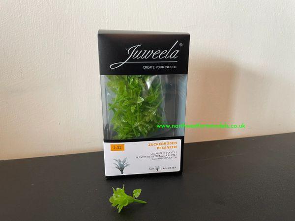 JUWEELA 23387 1:32 SCALE SUGAR BEET PLANTS (50 PIECES)