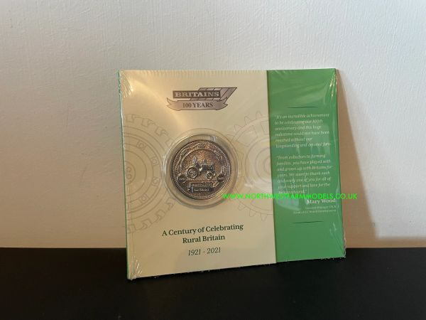 BRITAINS 100 YEARS COMMEMORATIVE COIN