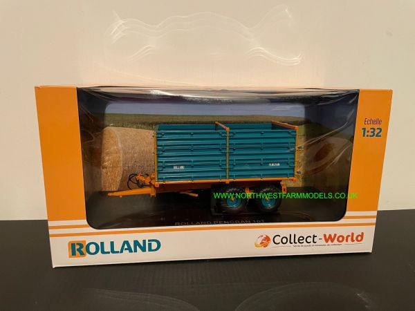 UNIVERSAL HOBBIES 1:32 SCALE 6307 ROLLAND HIGH SIDE 10 TON TRAILER - LIMITED EDITION