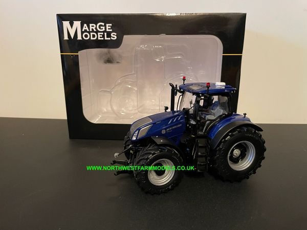 MARGE MODELS 1:32 SCALE NEW HOLLAND T7.315 BLUE POWER PLM - 2021 EDITION