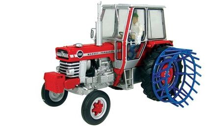 UH4185 UNIVERSAL HOBBIES 1/32 SCALE MASSEY FERGUSON 1080 2WD WITH CAGE WHEELS (LIMITED EDITION)