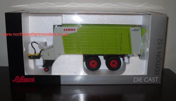 SCHUCO 1/32 SCALE CLAAS CARGOS 9500 FORAGE WAGON