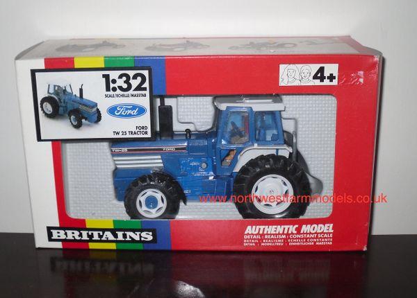 BRITAINS FARM 9508 FORD TW-25 (RAINBOW BOX) *OBSOLETE*