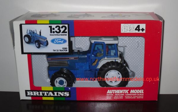 BRITAINS FARM 1/32 SCALE 9508 FORD 8730 POWERSHIFT (RAINBOW BOX) *OBSOLETE*