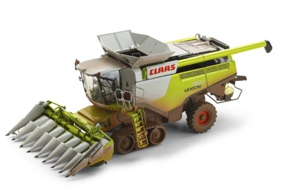 WIKING 1/32 SCALE CLAAS LEXION 760TT WITH CONSPEED 8-75 DIRTY EDITION *LIMITED EDITION*