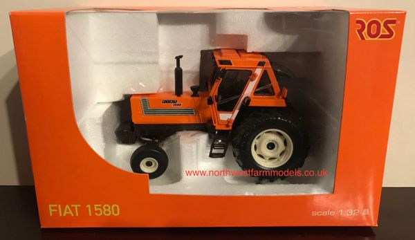 ROS 1/32 SCALE FIAT 1580 2WD LIMITED EDITION MODEL TRACTOR