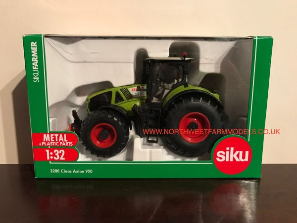 SIKU 3280 1/32 SCALE CLAAS AXION 950 MODEL TRACTOR