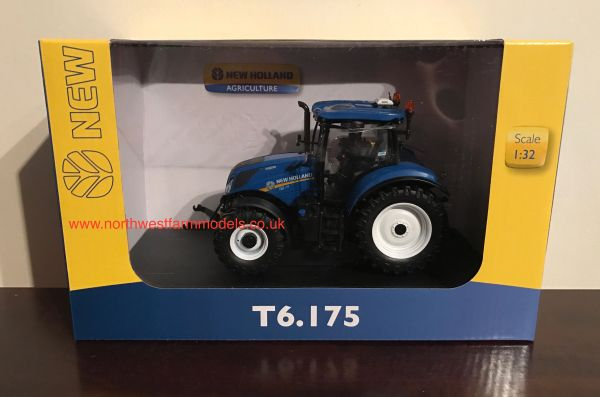 UH4921 1/32 SCALE NEW HOLLAND T6.175 MODEL TRACTOR **NEW MODEL**