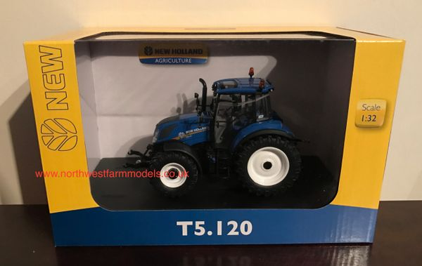 UH4957 UNIVERSAL HOBBIES 1/32 SCALE NEW HOLLAND T5.120 TRACTOR **NEW**