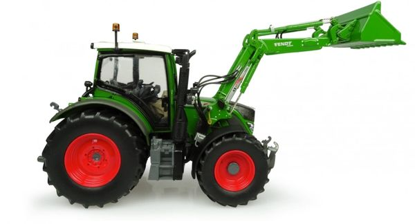 UH4981 UNIVERSAL HOBBIES 1/32 SCALE FENDT 516 VARIO WITH LOADER *NEW NATURE GREEN COLOUR*