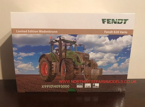 WIKING 1/32 SCALE FENDT 828 VARIO WADENBRUNN LIMITED EDTION