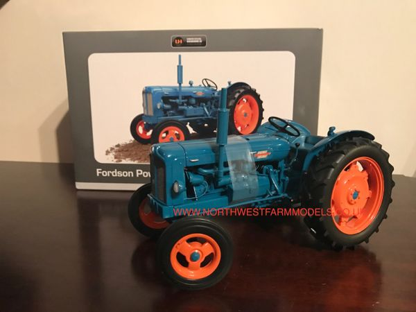 UNIVERSAL HOBBIES 1/16 SCALE FORDSON POWER MAJOR (1958)