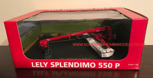 UH4104 UNIVERSAL HOBBIES 1/32 SCALE LELY SPLENDIMO 550 P TRAILED MOWER