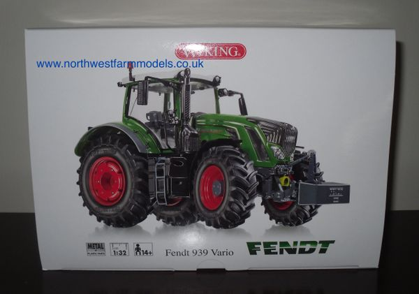 WIKING 1/32 SCALE FENDT 939 VARIO MODEL TRACTOR