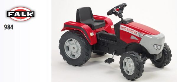 FALK RIDE ON TOYS McCORMICK XTX 165 PEDAL TRACTOR