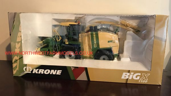 ROS 1/32 SCALE KRONE BIG X 1100 FORAGE HARVESTER (DEALER BOX)