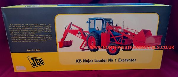 UH2711 UNIVERSAL HOBBES 1/16 SCALE KCB MAJOR LOADER MK1 EXCAVATOR