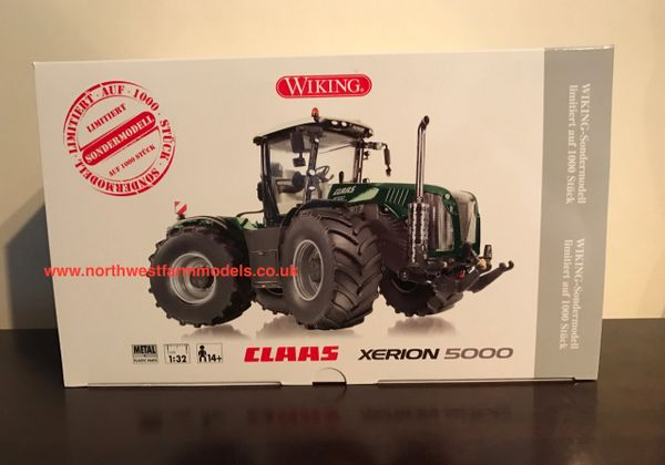 "WIKING 1/32 SCALE CLAAS XERION 5000 ""BOLLMER"" LIMITED EDITION"