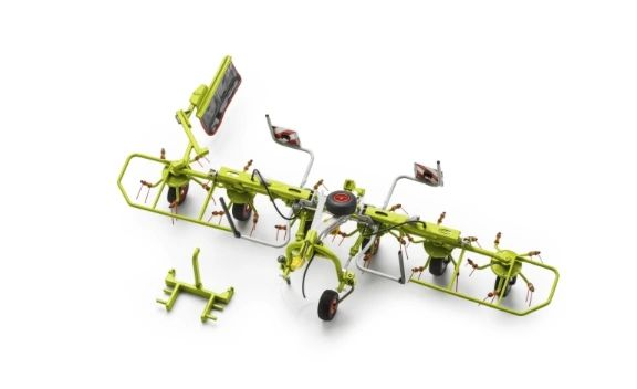 MARGE MODELS 1/32 SCALE CLAAS VOLTO 60 TEDDER LIMITED EDITION