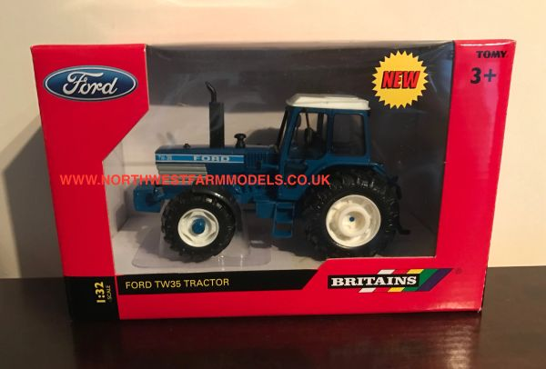 BRITAINS FARM 1/32 SCALE FORD TW35 4WD TRACTOR
