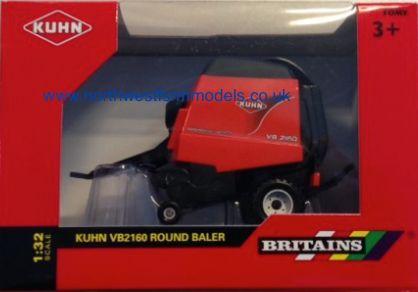 43059 1/32 Britains Kuhn VB2160 Round Baler
