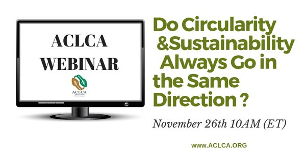 Do Circularity & Sustainability Always Go in the Same Direction?
