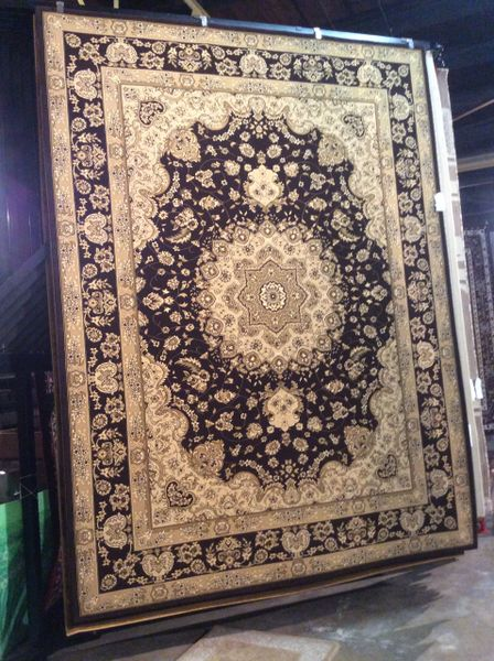 Chocolate Persian Design 8x11