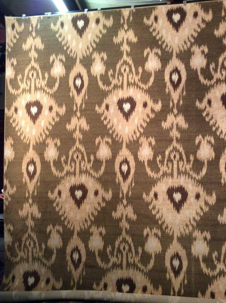 All over pattern cream aztec