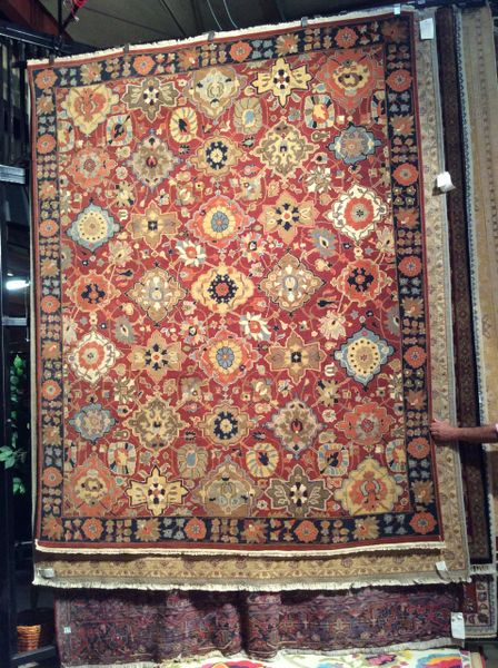 bakhtiyari persian design multi color Hand made 8x10