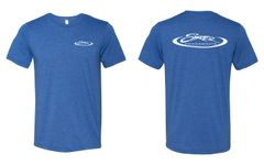 Triblend Heather Royal Blue Skater T-Shirt