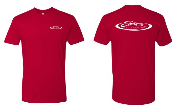 Red 100% Cotton Short Sleeve Crew